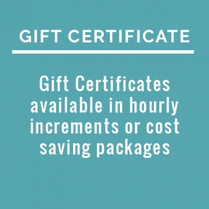 Gift Certificate for Corporate Concierge Services